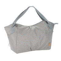 Zwillingswickeltasche Casual Twin Bag, Triangle Light Grey