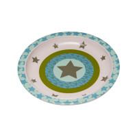 Kinderteller Plate Melamine, Starlight olive