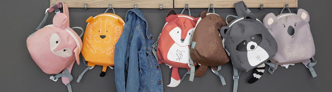 Sacs à dos pour la crèche (à partir de 2 ans)