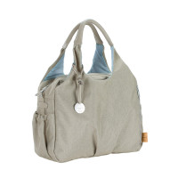 Wickeltasche Green Label Global Bag Ecoya, Sand