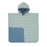 Kinder Badetuch - Beach Poncho, Penguin mint