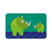 Frühstücksbrettchen Breakfast Board, Wildlife Rhino