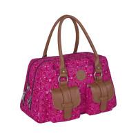 Wickeltasche Metro Bag, Paisley pink