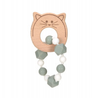 Greifling mit Beißhilfe - Teether Bracelet, Little Chums Cat
