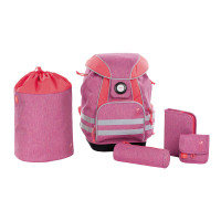 Schulranzen Set - School Set, About Friends Mélange Pink