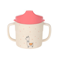 Trinklernbecher - Sippy Cup, Glama Lama Coral