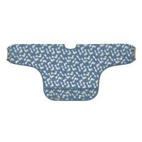 Ärmellätzchen - Bib Long Sleeve, Glama Lama Blue