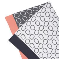 Babydecke Knitted Baby Blanket, Pebbles Light Grey