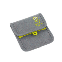 Brustbeutel -  Mini Neck Pouch, About Friends Mélange Grey