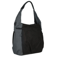 Wickeltasche Hobo Bag, black