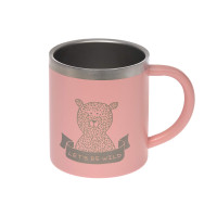 Kindertasse Edelstahl - Cup, Adventure Rose
