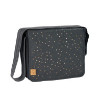 Wickeltasche Casual Messenger Bag, Triangle Dark Grey