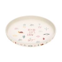 Kinderteller - Plate, Garden Explorer Girls