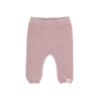 Baby Hose - Knitted Pants GOTS, Garden Explorer Light Pink