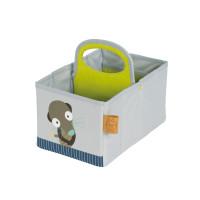 Wickeltisch Organizer Nursery Caddy, Wildlife Meerkat