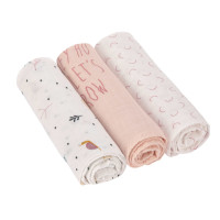 Mulltücher - Heavenly Soft Swaddle L, Garden Explorer Schnecke
