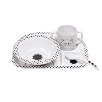 Kindergeschirr Set - Dish Set, Little Chums Cat