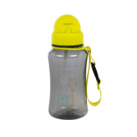 Trinkflasche -  Drinking Bottle, About Friends Grey