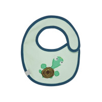 Lätzchen Bib Waterproof Small, Wildlife Turtle