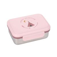 Kinder Brotdose Edelstahl - Lunchbox, Adventure Tipi