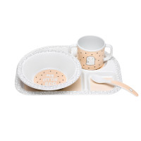Kindergeschirr - Dish Sets, Little Spookies Peach