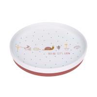 Kinderteller Porzellan - Plate, Garden Explorer Schnecke