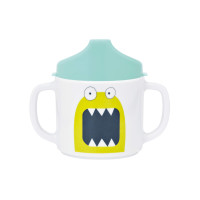 Trinklernbecher Dish Cup, Little Monsters Bouncing Bob