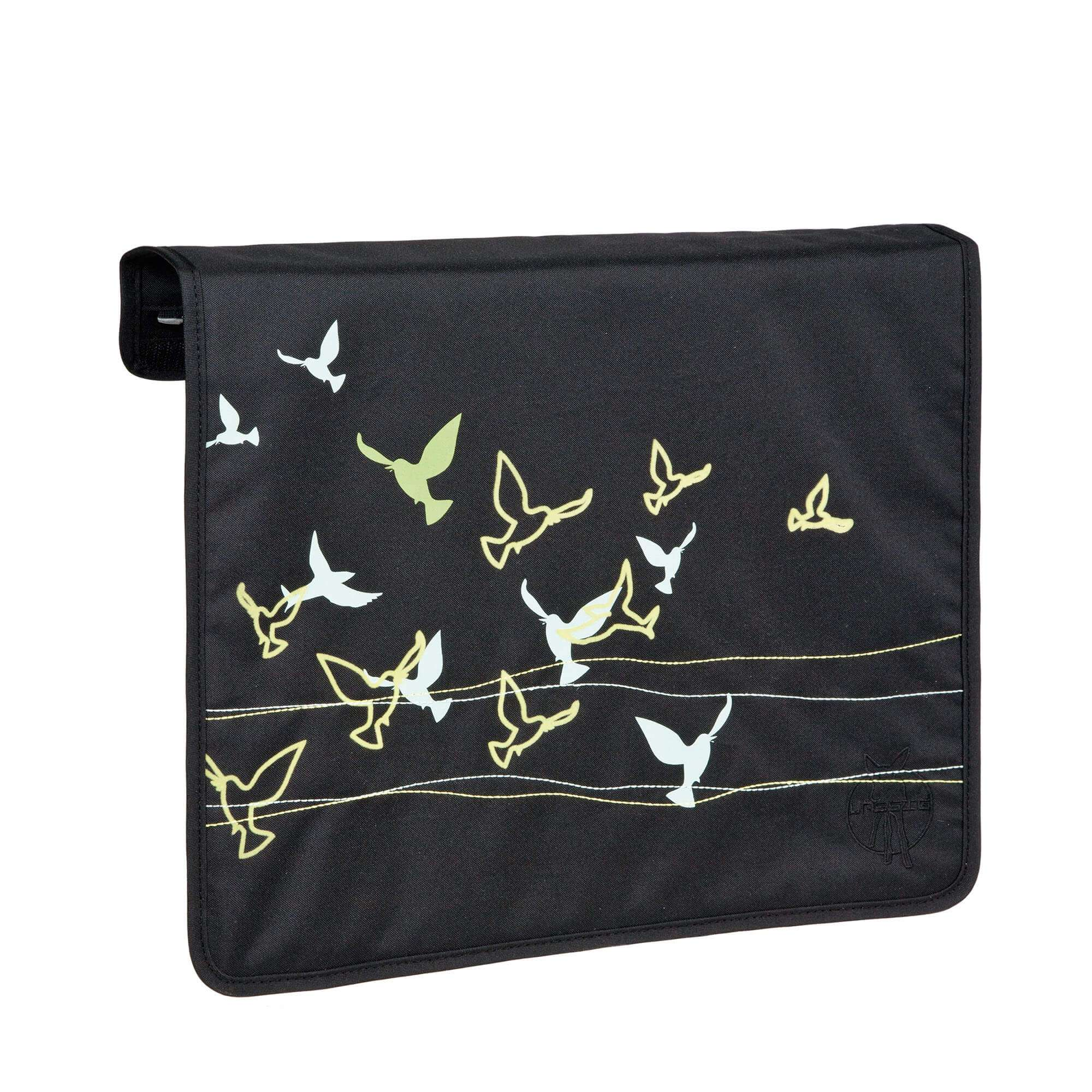 Rabat interchangeable Lassig Messenger Bag Casual Flock of Birds ebony gris rBAJRmaJz