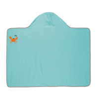 Handtuch Hooded Towel Boys, Star Fish
