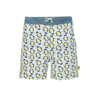 Kinder Badehose -  Board Shorts, Penguin mint