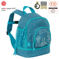 Kindergartenrucksack -  Mini Backpack, About Friends Mélange Blue