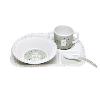 Kindergeschirr - Dish Sets, Little Spookies Olive
