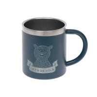 Kindertasse Edelstahl - Cup, Adventure Blue