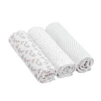 Mulltücher Heavenly Soft Swaddle & Burp Blanket L, Lela Light Pink