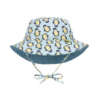 Sonnenhut für Kinder - Sun Protection Bucket Hat, Penguin mint